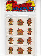 Vintage Paper Art Scratch and Sniff Sticker Package - Peanut Butter Gingerbread
