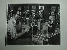 Payphone  3 slot pay phone Western Electric Payphone repair man print  picture