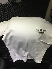 Stunning White Armani Top Slim Tight Fitting In Brand New Condition Size M/L