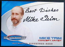 THUNDERBIRDS il filmato: Mike Trim, concetto artista-autograph CARD-CARTE Inc