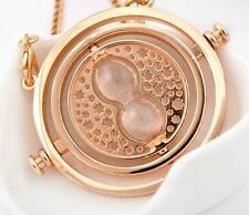 Harry Potter Hermione Granger Rotating Time Turner Necklace  Hourglass