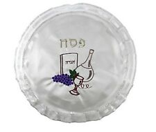 Passover Matzah Cover - Seder Pesach Jewish Holiday Gift - Kiddush Cup Haggadah