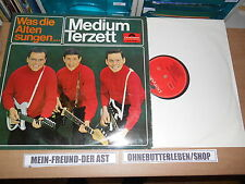 LP Schlager Medium Terzett - Was die Alten sungen... (14 Song) POLYDOR Twardy