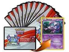 x10 Various XY Pokemon TCG OnLine Code Karten + 1 Bonus Mewtwo X Code