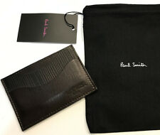 Paul Smith Credit Card Case Business Card Travel Pass HANDCRAFTED IN ENGLAND