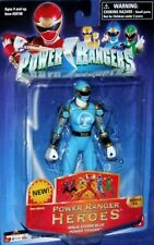 "Power Rangers Ninja Storm 5"" Blue Ranger New heroes series 15 Factory Seal 2006"
