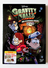 Gravity Falls Six Strange Tales Disney Cartoon on DVD Includes Journal #3 Insert