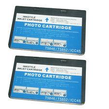 2 x Epson T5846 Non-OEM  Replacement Photo Color  Ink Cartridge for PictureMate
