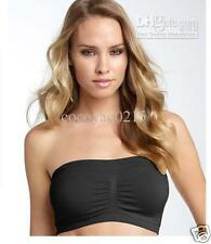 3 PC COMBO PACK OF TUBE STRAPLESS BRA BANDEAU IN SIZE 30TO34 Lingerie.Size-Free