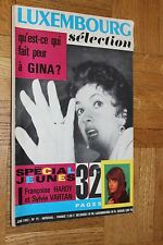Ancienne revue LUXEMBOURG Selection - N°15 - Juin 1963 - Hardy Vartan Gina