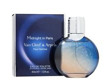 MIDNIGHT IN PARIS pour homme Van Cleef Arpels 1.3 EDT Spray Men Cologne 40ml NIB