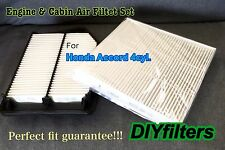 COMBO SET AF6282 C35519 FOR Accord 4CYL Engine&Cabin Air Filter for 2013-16