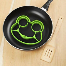 1pc Silicone Egg Fried Mould Molds Frog Shaper Poucher Pancake Ring Kitchen Tool