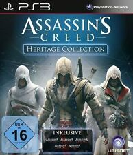 Sony PS3 * Assassins Creed Heritage Collection 1+2+3+Brotherhood+Revelations NEU