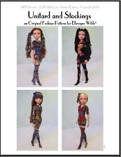 """""""Unitards and Stockings"""" Fashion Pattern for Ellowyne - Great starter pattern!"""