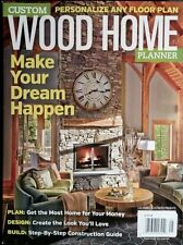 Custom Wood Home Planner Log Ill. Timber Plan Design Build 2014 FREE SHIPPING