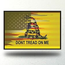 Dont Tread On Me Sticker Car Window Gadsden Flag Truck Rebel Southern Flag Decal