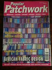 Popular PATCHWORK March/April 2001- Patchwork/quilting/appliqué and more
