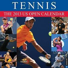 Tennis Wall 2013: The 2013 US Open Calendar, United States Tennis Association, N