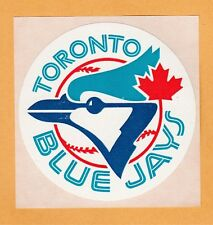OLD LOGO 1970s MLB TORONTO BLUE JAYS 3 inch DECAL STICKER UNUSED STOCK