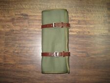 New K750 M72 Handmade Canvas Tool Roll Light Brown Straps