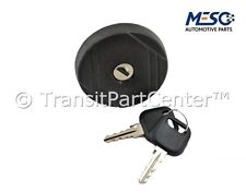 LOCKING FUEL PETROL DIESEL CAP & TWO KEYS FORD TRANSIT MK6 2000-2006