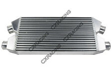 CXRacing Twin Turbo Intercooler For Nissan 300ZX Audi S4 30x11.25x3  Bar & Plate
