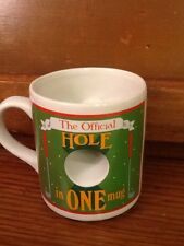 Papel The Official Hole In One Coffee Mug Cup Preowned