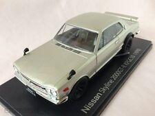 NISSAN SKYLINE 2000GT-R KPGC10 (1970) 1:24 Diecast Scale Model Car Hakosuka NEW