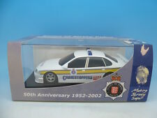 C2466 scalextric ultra rare jersey voiture de police, mint boxed