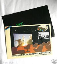 Publicité Ancienne vidéoprojecteur Videpro Hi Beam an. 80
