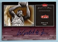 WORLD B FREE 2005/06 GREATS OF THE GAME SIGNATURE AUTOGRAPH AUTO