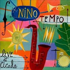 NINO TEMPO LIVE AT CICADA PROMO CD