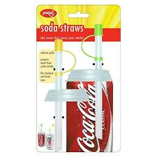 Jokari Soda Straw / Pop / Beverage Can Caps - 2pk