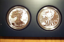 2013 West Point Mint 2 Coin Set S40 SAE 1 Reverse Proof&1 Enhanced Uncirculated-