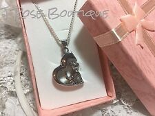 HEART CHIHUAHUA URN FUNNEL Pendant Necklace Ash JEWELRY 925 SILVER STAINLESS ST