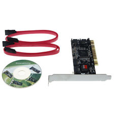 4 SATA Hard Disk Drives to PC,Serial-ATA,PCI Controller Card,Software RAID