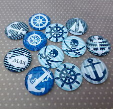 20mm Nautical Cabochon Mix Pack of 15