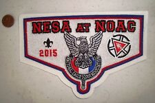 OA NESA NATL EAGLE SCOUT PATCH NOAC 2015 100TH ANN WHITE CHENILLE FLAP 250 MADE