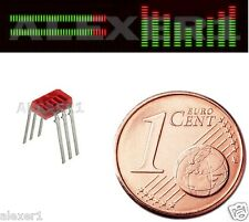 12x  Vintage LED 5-Segment Bargraph Array RED Indicator  AL527B
