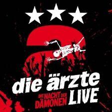DIE ÄRZTE - LIVE-DIE NACHT DER DÄMONEN (BOX-SET) 3 CD  DEUTSCH-ROCK & POP  NEU