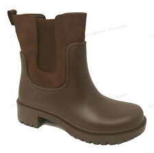 Women's Rain Boots Rubber Elastic Waterproof Short Garden Snow Ankle Boots Sizes