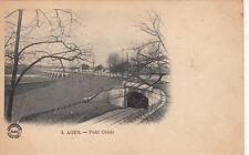AGEN 3 pont-canal chemin de fer écrite