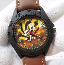 "MICKEY MOUSE & OSWALD,""Fly Boys"",Military Dial, MEN'S CHARACTER WATCH,1325"