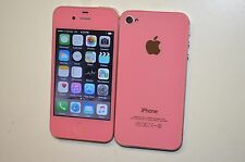 Apple iPhone 4s - 16GB - Light Pink  Factory  unlocked  Metro Pcs Smartphone