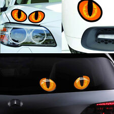 NEW Funny Car Stickers Cute Cat Evil Eyes Car Vinyl Sticker Decal Window Mirror