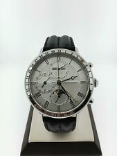 Georg Jensen Chronograph Automatic Limited Edition Moon Face Mens Watch