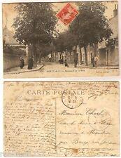 CPA TACHEE !!! Lepage postcard Boulevard de la Gare MER 41 Loir et Cher [1017 R]