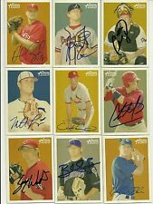 2006 Bowman Heritage ANDREW CARPENTER Signed Card autograph PHILLIES rc