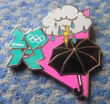 OLYMPIC LONDON 2012 ENAMEL PIN BADGE